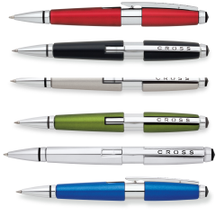b2d7200de268 Cross Edge custom printed and engraved Gel Ink Pen with your name of logo  personalized on